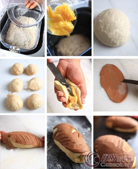 做面包步骤图片
