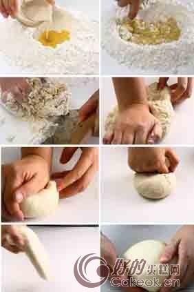 厨师机揉面的步骤